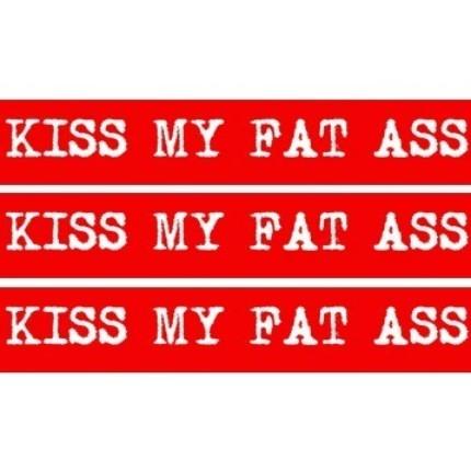 Kiss My Fat Ass!